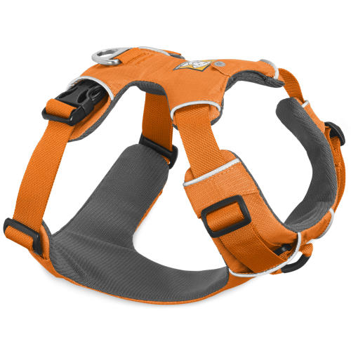 Ruffwear Front Range Reflective Dog Harness Orange Poppy