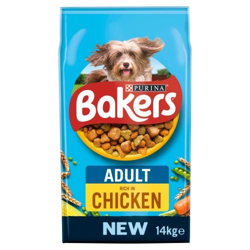 Bakers Chicken & Vegetable Adult Dog Food