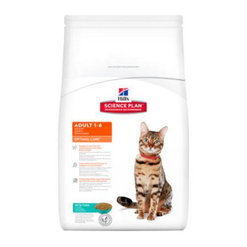 Hills Science Plan Feline Adult Optimal Care Tuna