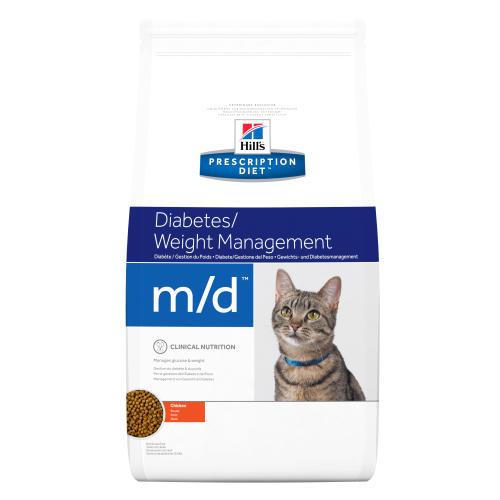 Hills Prescription Diet MD Diabetes Weight Management Dry Cat Food Chicken