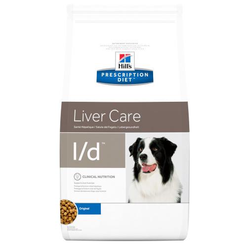 Hills Prescription Diet LD Liver Care Dry Dog Food