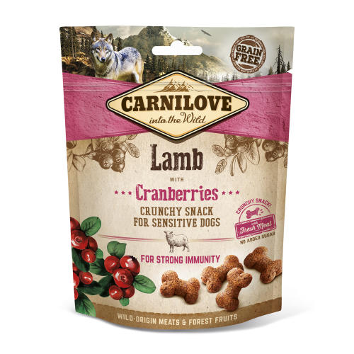 Carnilove Crunchy Lamb with Cranberries and Fresh Meat Dog Treat