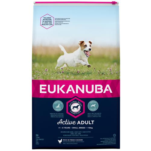 Eukanuba Active Adult Chicken Small Breed Adult Dog Food