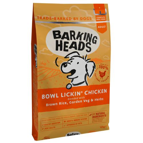 Barking Heads Bowl Lickin Chicken Dry Adult Dog Food