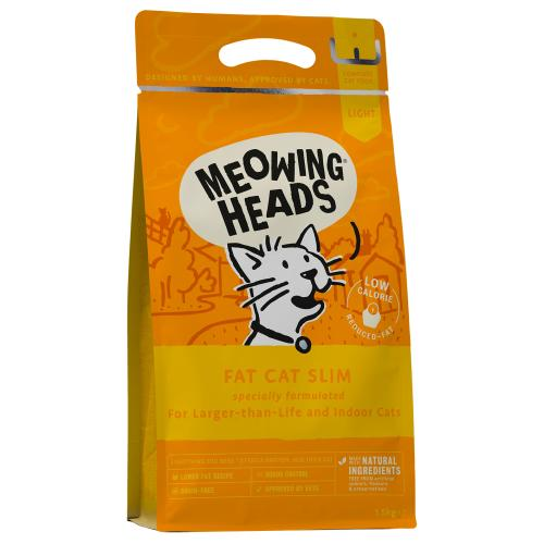Meowing Heads Fat Cat Slim Adult Cat Food