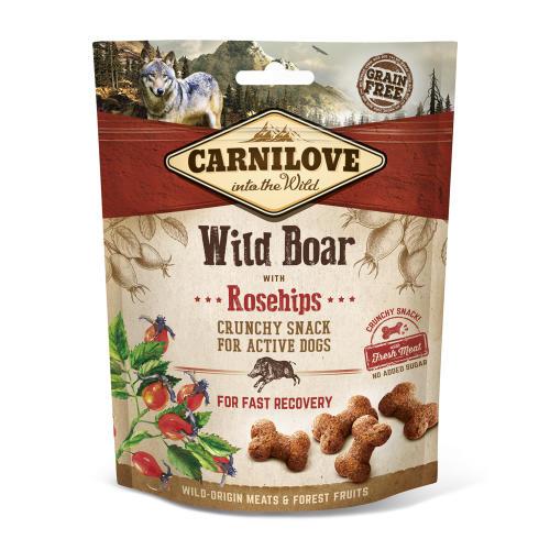 Carnilove Crunchy Wild Boar with Rosehips Dog Treat