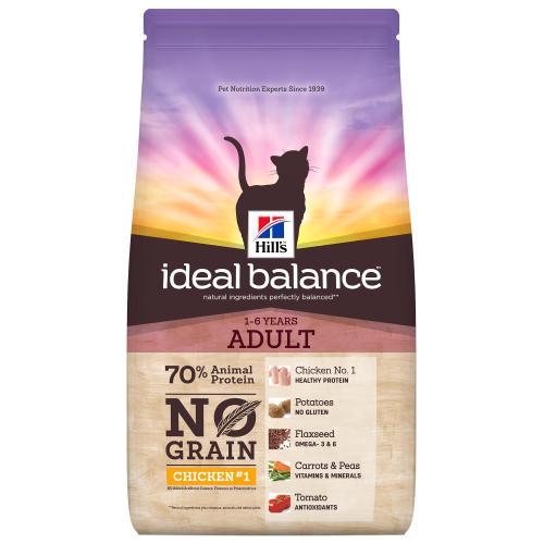 Ideal Balance Dog Food >> Hills Ideal Balance No Grain Chicken Potato Adult Dry Cat Food