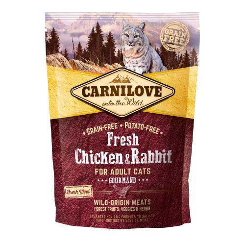 Carnilove Fresh Chicken & Rabbit Dry Adult Cat Food