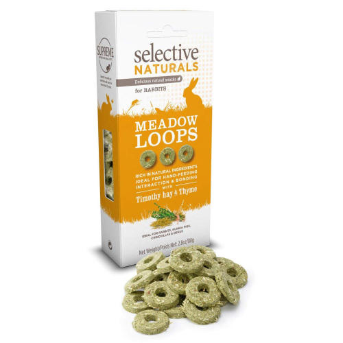 Selective Naturals Meadow Loops Small Pet Treats
