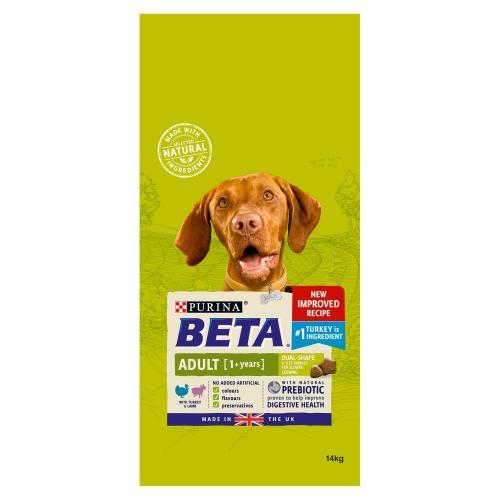 BETA Turkey & Lamb Adult Dog Food