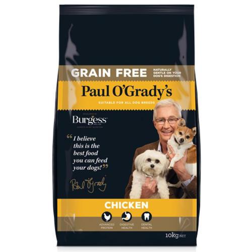 Paul O Gradys Grain Free Chicken Adult Dog Food