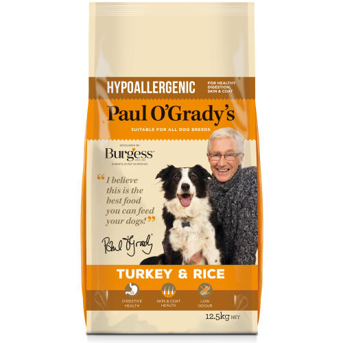 Paul O Gradys Hypoallergenic Turkey & Rice Adult Dog Food
