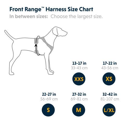 Ruffwear Front Range Reflective Dog Harness Twilight Grey