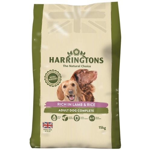 Harringtons Lamb & Rice Adult Dog Food