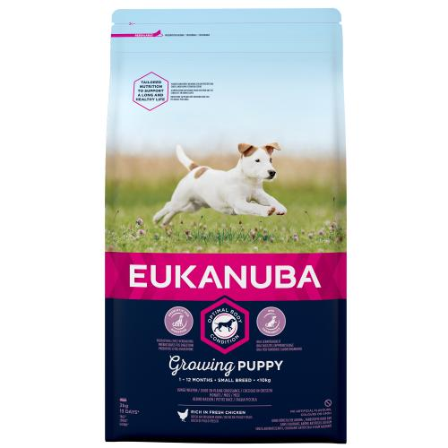 Eukanuba Growing Puppy Chicken Small Breed Puppy Food