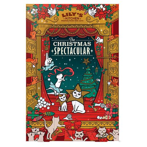 Lilys Kitchen Christmas Cat Advent Calendar
