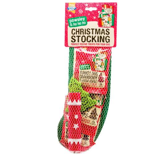 Good Boy Christmas Stocking for Dogs