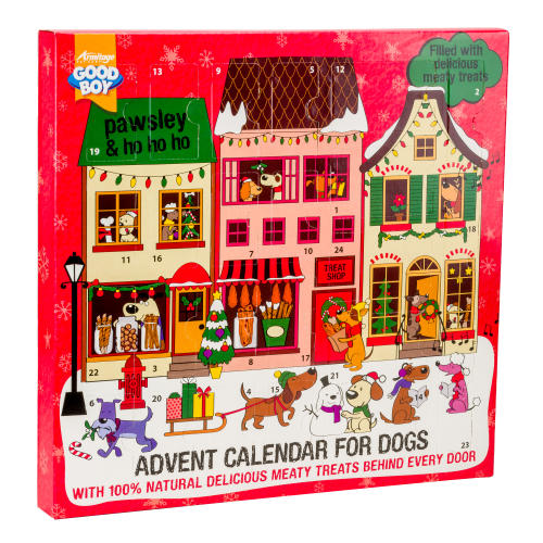 Good Boy Meaty Treats Christmas Dog Advent Calendar