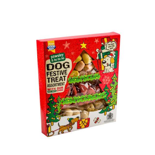 Good Boy Christmas Treat Assortment for Dogs