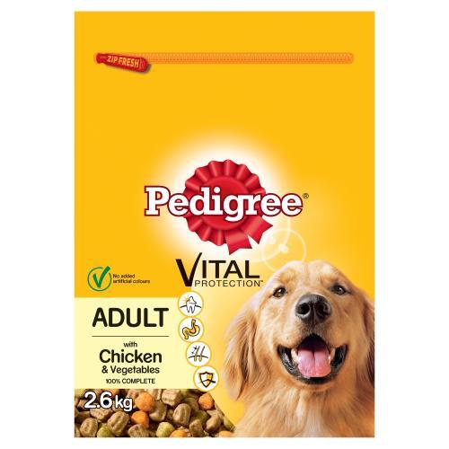 Pedigree Vital Protection Chicken & Vegetables Adult Dog Food