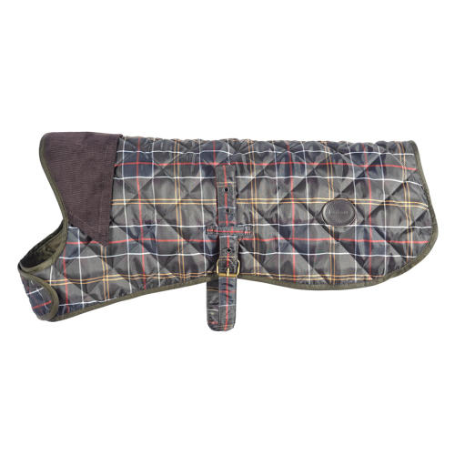 Barbour Tartan Dog Coat