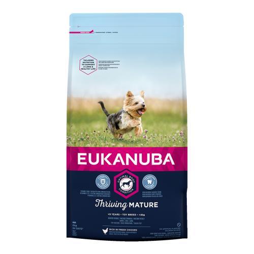 Eukanuba Thriving Mature Chicken Toy Breed Dog Food