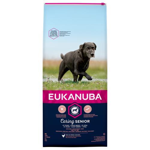 Eukanuba Caring Senior Chicken Large Breed Senior Dog Food