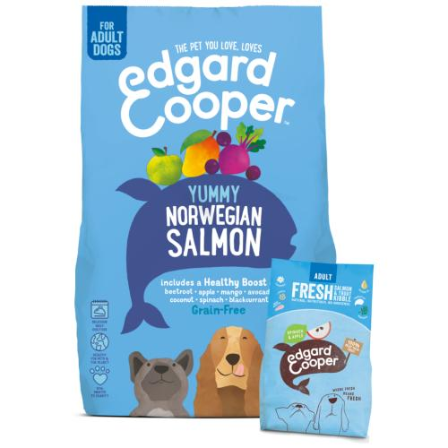 Edgard & Cooper Fresh Norwegian Salmon Grain Free Adult Dog Food