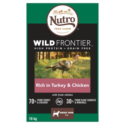Nutro Wild Frontier Turkey & Chicken Dry Medium Adult Dog Food