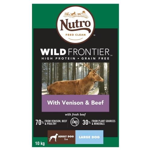 Nutro Wild Frontier Venison & Beef Dry Large Adult Dog Food