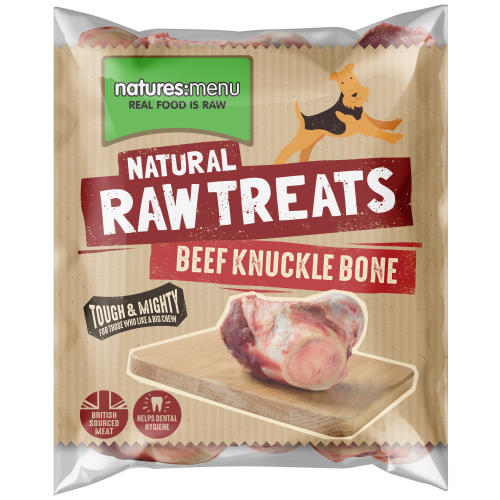 Natures Menu Beef Knuckle Raw Frozen Natural Dog Treat