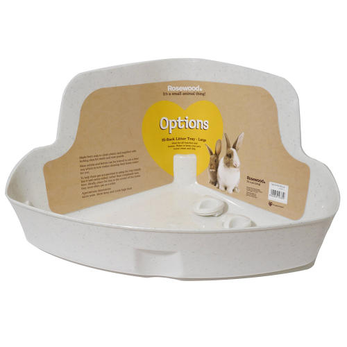 Rosewood Corner Small Pet Litter Trays