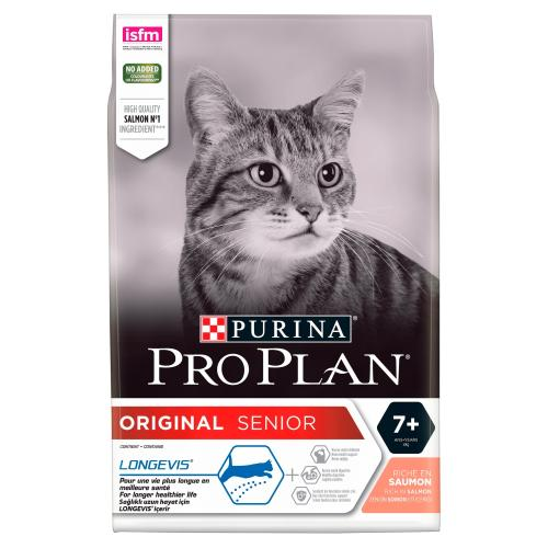PRO PLAN Adult 7+ Salmon Senior Cat Food