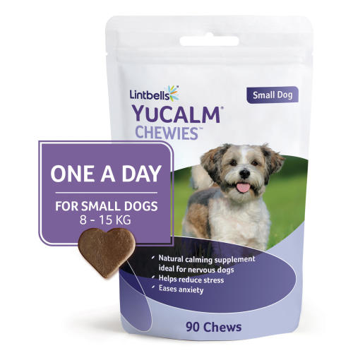 Yucalm Chewies One a Day Dog Calming Supplement