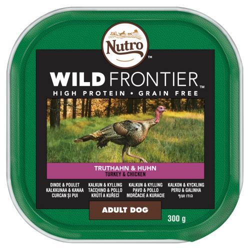 NUTRO Ancestral Chicken & Turkey Loaf Adult Wet Dog Food Trays