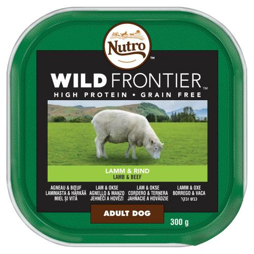 NUTRO Ancestral Lamb & Beef Loaf Adult Wet Dog Food Trays