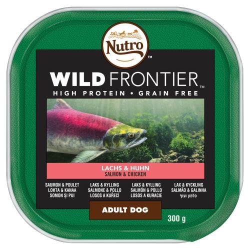 NUTRO Ancestral Salmon & Chicken Loaf Adult Wet Dog Food Trays