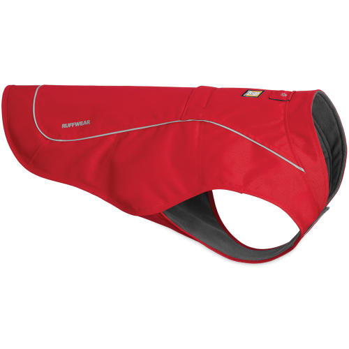 Ruffwear Dog Overcoat Utility Jacket Red Currant
