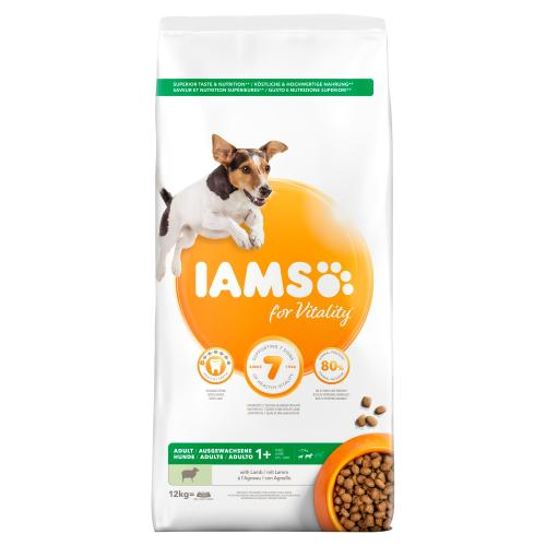 IAMS for Vitality Lamb Small & Medium Adult Dry Dog Food