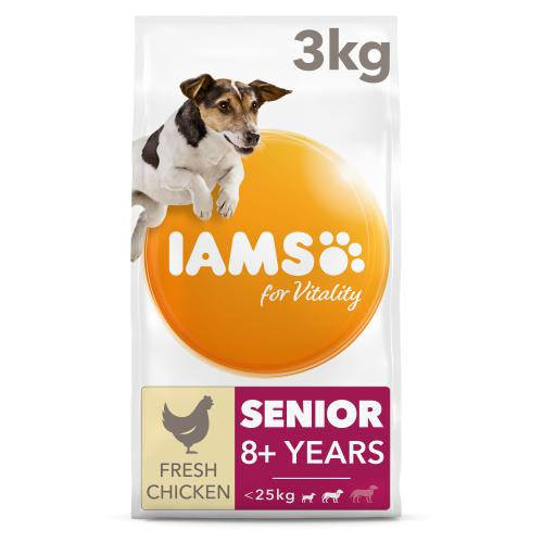 IAMS for Vitality Chicken Senior Small & Medium Breed Dry Dog Food
