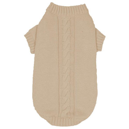 Banbury Knitted Dog Jumper in Ivory