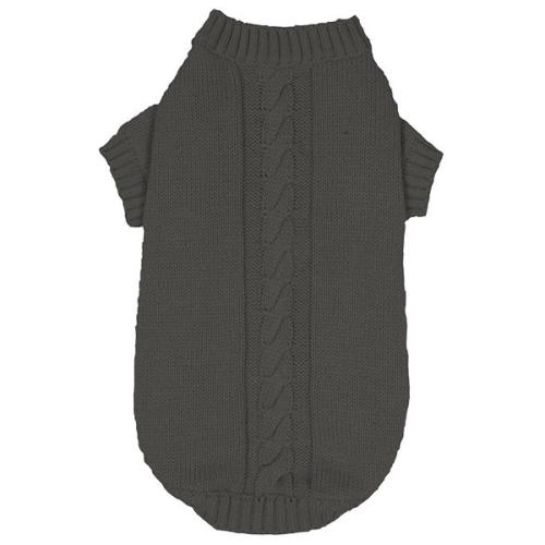 Banbury Knitted Dog Jumper in Grey