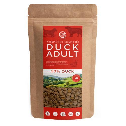 Clydach Farm Duck Grain Free Dry Adult Dog Food
