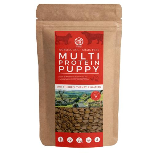Clydach Farm Grain Free Multi Protein Dry Puppy Food