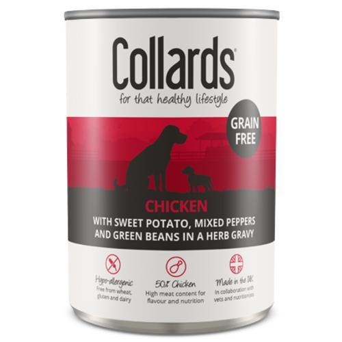 Collards Grain Free Chicken In Gravy Wet Adult Dog Food