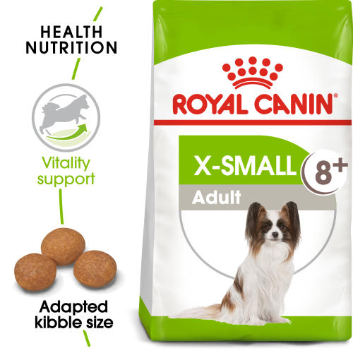 Royal Canin X-Small Adult +8 Dry Dog Food