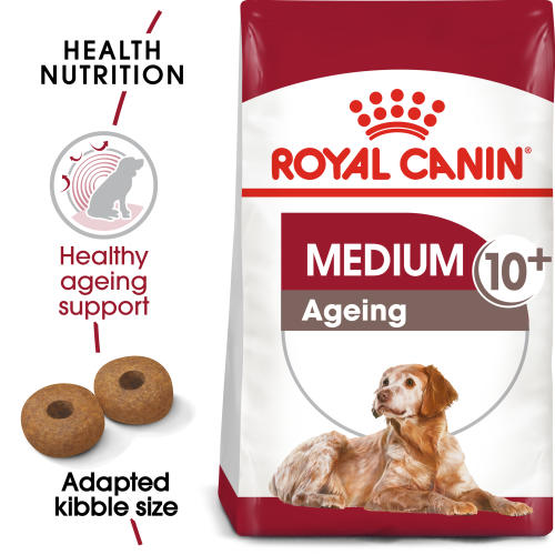 Royal Canin Medium Ageing 10+ Dry Senior Dog Food