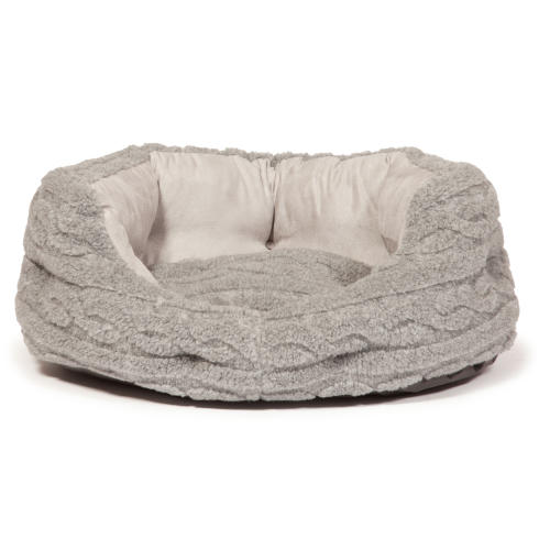 Danish Design Bobble Pewter Deluxe Slumber Dog Bed