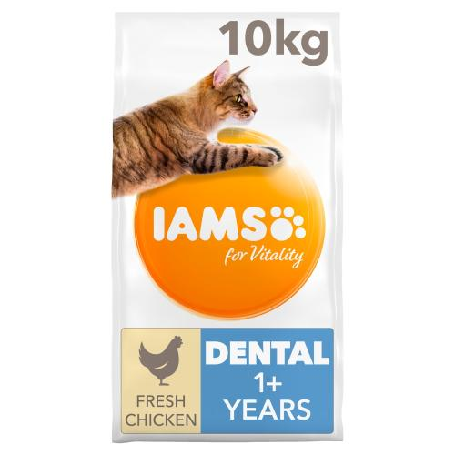 IAMS for Vitality Dental Care Chicken Adult Dry Cat Food