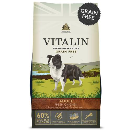 Vitalin Natural Grain Free Chicken Adult Dog Food